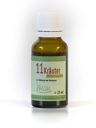 11 Kräuter Bittertropfen 20ml / 50 ml Original nach Hildegard von Bingen (20) -