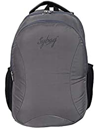 Sybag Grey Casual Laptop Bag