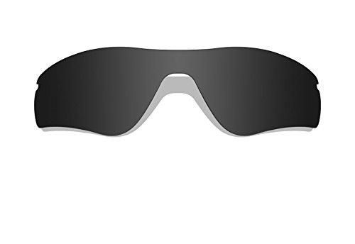 Schwarz Polarisierte Ersatz Gläser für Oakley Radar Path Sonnenbrille