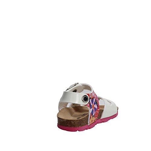 Grunland SB0823-40 Sandale Fille BIANCO-FANTASIA