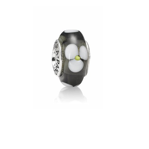 Pandora Damen-Bead Sterling-Silber 925 Muranoglaskugel Kasi 79604