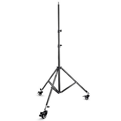 Neewer® Studio Photo Max Hauteur 200,7cm/200cm Roues Roulette avec support léger pour vidéo Photographie, Portrait et d'éclairage