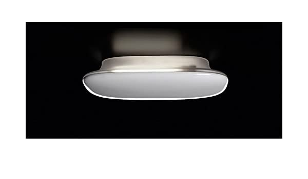 Applique moderna in vetro soffiato led ip satellight by