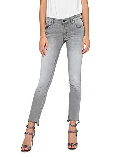 a0b7a353b5d3 Replay Damen Boot-Cut Bootcut Jeans DOMINIQLI WA646 .000.173 427