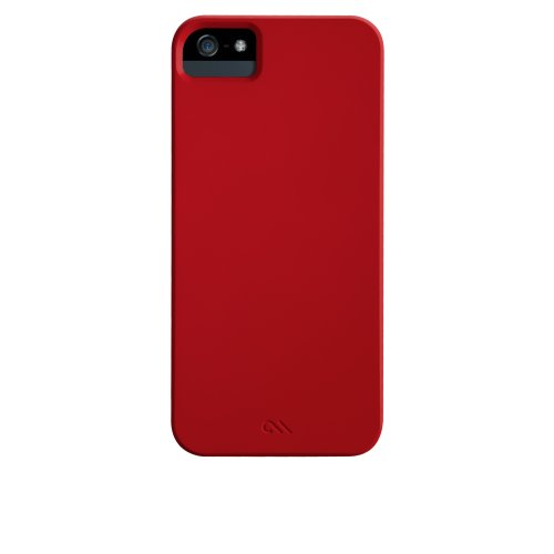 Case-Mate CM022404 Barely There Case für Apple iPhone 5 rot