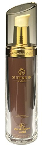 AG Australian Gold, Superior DHA Luxe Bronzer, Tanning Lotion 7 Ounce by New Sunshine