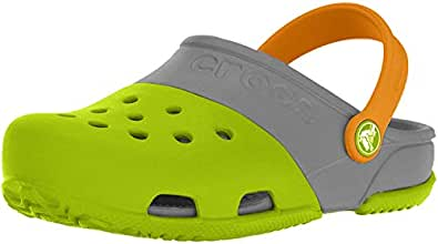 crocs Kids Unisex Electro II Rubber Clogs and Mules
