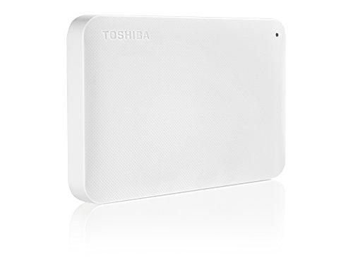 Toshiba Canvio Ready 500GB Externe Festplatte (6,4 cm (2,5 Zoll) USB 3.0) weiß