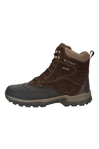 Mountain Warehouse Bottes de Neige Freeze Low Hommes Marron
