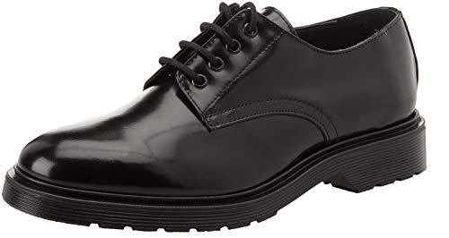 Bata 8246552, Zapatos Cordones Derby Hombre, Negro