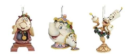 Disney Traditions-La Belle & la bête de Mme Potts &