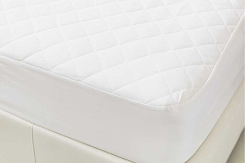 Bedding Heaven Fitted Quilted Mattress Protector. Made by FOGARTY. Single, Double, King, Superking. (Single)