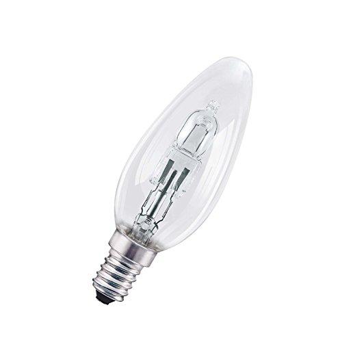Osram Halogen-Lampe, Classic B, E14-Sockel, Dimmbar, 46 Watt - Ersatz für 60 Watt, Warmweiß - 2700K, 5er-Pack