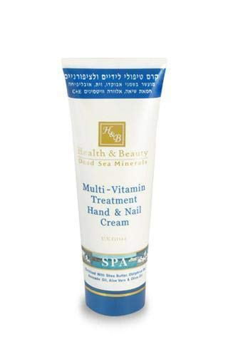 La Santé et Beauté Traitement minéraux Crème mains et ongles à l'huile d'argan, 100 ml