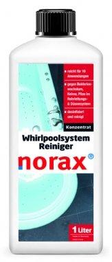 norax Whirlpoolsystem Reiniger 1l - Spezialreiniger zur Desinfektion, wirkt gegen Bakterienwachstum & Keime in Rohren und Düsen