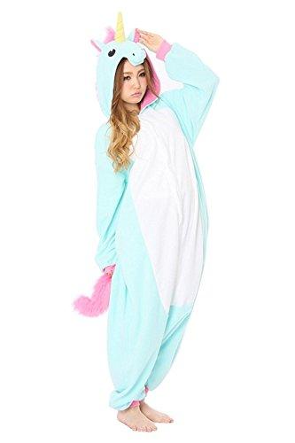 Adult Unicorn Onesie Pajamas Kigurumi Cosplay Costumes Animal Outfit Pyjamas Sleepwear Nightclothes