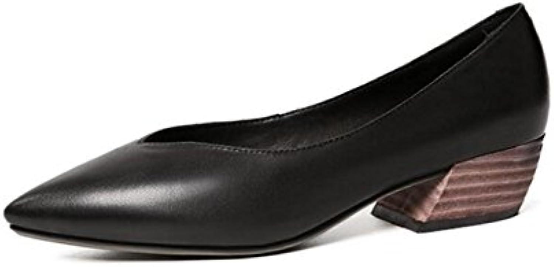 MUYII Femmes Retro V-port Mocassins Shallow Mouth Mouth Mouth Chaussures Plates Chaussures Pour Femmes EnceintesB07D26PKRNParent | Belle Qualité  1e8b62