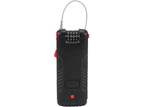 Olympia Universalschloss mit Alarm ULA410 5998 schwarz