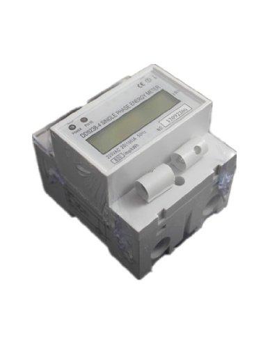 1DDS238-420(100) Single Phase DIN-Schiene Typ Kilowattstunde kWh Meter 220V 60Hz 20(100) A von nitbuy -