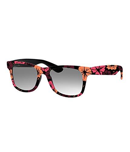 Rockacoca Unisex (Damen Herren) Sonnenbrille mit Design UV400 - Unisex sunglasses with Handpainted Flowery Design