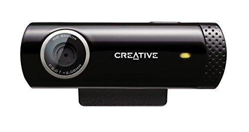 Creative Live! Cam Chat HD (USB-Webcam mit Integriertem Mikrofon) (Zertifiziert und Generalüberholt)
