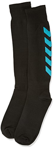 Hummel, Calzini Essential Football, Nero (Black/Scuba Blue), 41-45