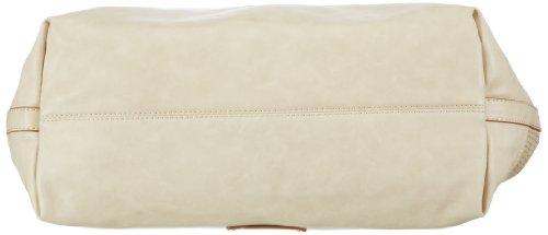 ESPRIT Tasche 033EA1O137, Damen Henkeltaschen 38x25x17 cm (B x H x T) Beige (Natural Beige 265)
