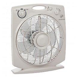 S & P - Ventilador S&P Box Fan Meteor ES N con temporizador