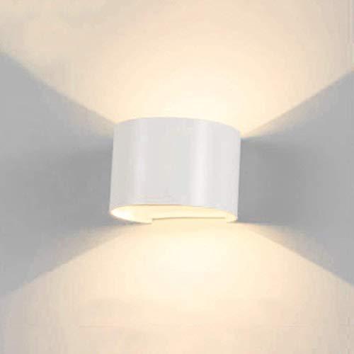 MIRROR LAMPS HOME Wandmontierte LED Wasserdichte Wandleuchte Moderne Minimalistische Innen Wasserdichte Garten Wandleuchte Schlafzimmer Nachttischlampe Gang Wand Projekt Außenwandleuchte Hotel KTV Dek