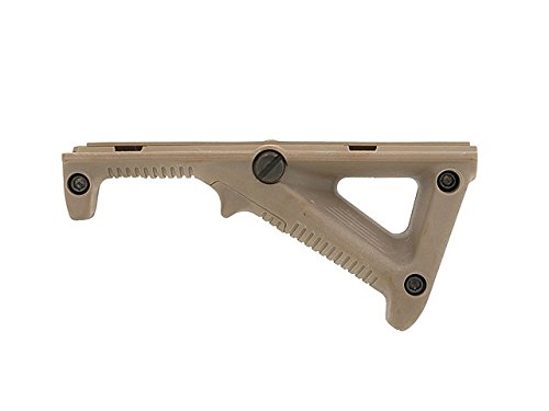 WG Airsoft Angled Ergonomic Grip MOD.2 Softair Front Grip Frontgriff (DE Tan)