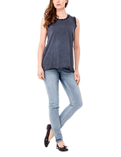 Isabella Roma Damen Top Canotta Denim