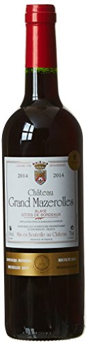 Château Grand Mazerolles Vin Blaye Cotes de Bordeaux AOP 75 cl