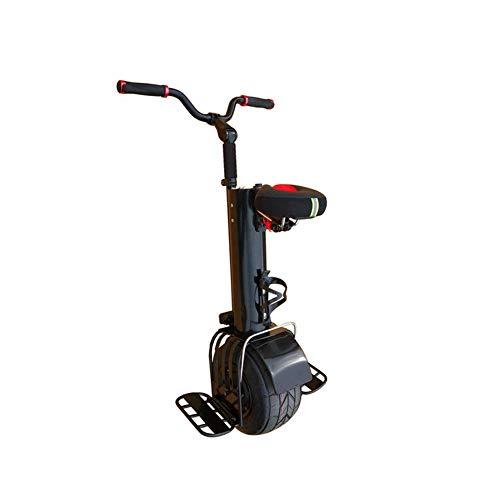Y&XF 500W Einrad Elektroroller für Erwachsene Selbstausgleich Smart Charging Travel 10 Zoll Einrad-Motorrad mit Sitz und Lenker Jungen Mädchen