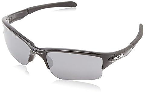 Oakley Men's Quarter Jacket Sunglasses, Black,