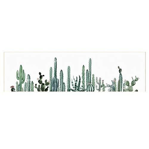 MINRAN DECOR A Impression sur Toile - No Frame Image sur Toile - Moderne Cactus - Tableaux pour la Mur - Motif Moderne - Décoration - Ananas Gris, 2, 160x50cm