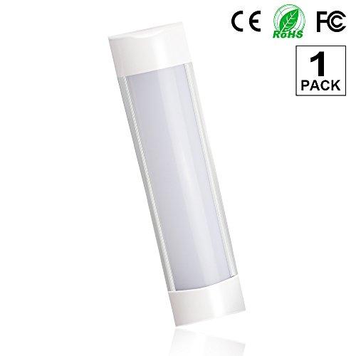 1er-Pack LED Röhre 30cm,T10 Leuchtstoffröhre Lichtleiste Deckenleuchte Lampe 10W 750 Lumens 3000k(Weiches Weiß)