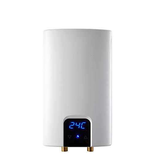 Warmwasserbereiter JION Elektro-Durchlauferhitzer für den Außen- und Innenbereich, Innen-Durchlauferhitzer, Niederdruckstart, weiß