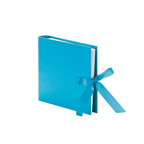 Rössler 13161147486 Fotoringbuch mit Schleife S.O.H.O, 230 x 210 mm, 50 Seiten, Pacific, 1 Stück -