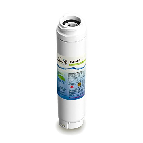 Bosch replacement water filter BT-644548, AP3962558, REPLFLTR10, 9000077095, KWF1000, RF280013 100% recyclable, and made in U.S.A. and Canada SGF-BO90 by Swift Green Filters