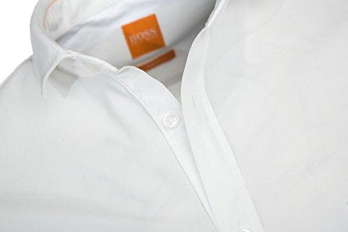 Boss Orange 10195828 01, Chemise Casual Homme white