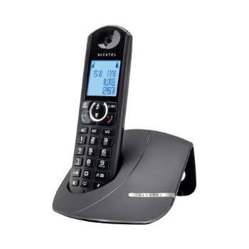 Alcatel F570 Téléphone sans fil non ISDN Noir