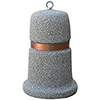 Repelente de hormigón, inerti a vista, tamaño H 75Diam. 50cm.