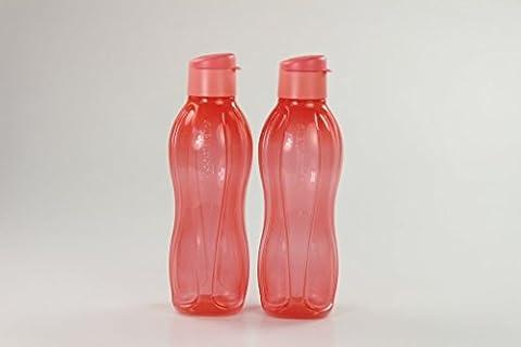 TUPPERWARE Eco 750 ml To Go Trinkflasche Ökoflasche EcoEasy lachs (2) 14658