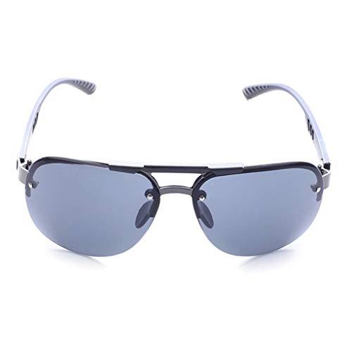 Junecat Man Jungen-Fischen Brillen Sunblock Randlos Sonnenbrille freie Objektiv-Sun-Glas-HD Visuelle Brillen Shades