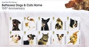 Battersea Dogs & Cats Home Präsentation Pack Stempeln -