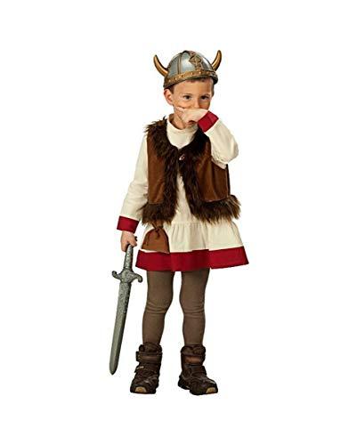 Horror-Shop Klassisches Wikinger Kostüm für Kinder ()