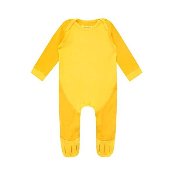Disney Conjunto de Pijama Entera y Gorro para Niños Bebés El Rey león 2