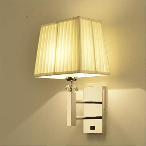 E27 Luces de pared moderno de estilo hotel cama lámpara sustancia sombra...