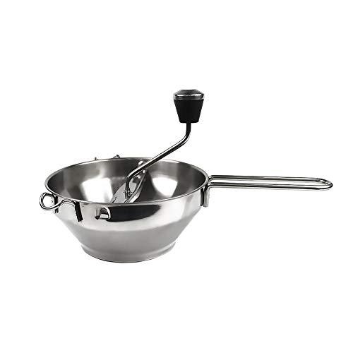 Passiergerät Passiermühle Stainless Steel Food Blender Passiersieb Edelstahl zum Passieren von Suppen Tomaten Gemüse Kartoffeln
