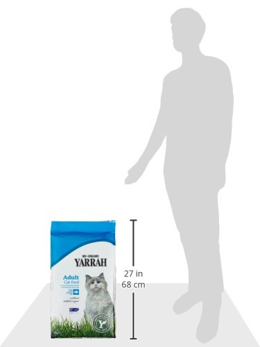 Yarrah Adult Cat Food Fisch, 10 kg - 4